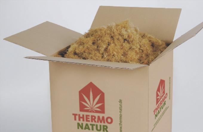 Thermo Stopfhanf im Karton